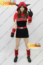 Pokemon Team Magma Gal Cosplay Costume CSddlink