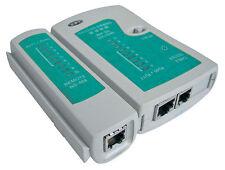 Nuevo RJ45 Cat6e Cat5e red Ethernet Cable Probador