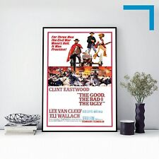 1966 THE GOOD, THE BAD AND THE UGLY - Movie Film Poster Print A3 A4 A5
