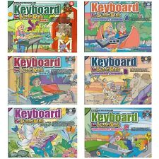 More details for electric keyboard digital piano tutor lessons book for kids & young beginners h8