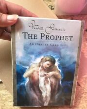 KAHLIL GIBRAN'S PROPHET ORACLE TAROT DECK WISDOM FOR SPIRITUAL GROWTH CAT ResQ