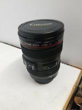 Canon Camera Lens Thermos Cup Mug with Caniam travel mug 24-105 mm