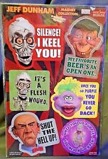Set of 6 Jeff Dunham Refrigerator Magnets - New sealed in package!!