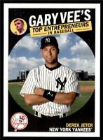 2019 Topps Series 2 Gary Vee Top Entrepreneurs #GV-9 Derek Jeter