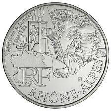 10 Euros région RHONE ALPES 2012