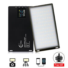 YY-120 Mini LED Video Light 3200K-5600K Fill Light Lamp for Camera Camcorder