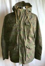 American Eagle Mens Hooded GR Camouflage Field Military Jacket Coat Size M Med