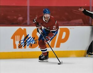 Autographed Montreal Canadiens Eric Staal 8x10 Photo #5 Original