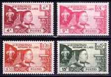 1959  LAOS    Y & T    N° 55 à 58   Neufs *  AVEC CHARNIÈRE