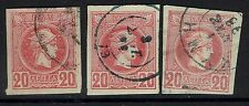 Greece - SC# 94a (x3) - Cancel Varieties - Rose - Used - 053016