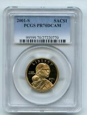 2001 S $1 Sacagawea Dollar PCGS PR70DCAM