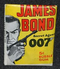 James Bond 1965 Philadelphia Card Wax Pack Sean Connery Unopened