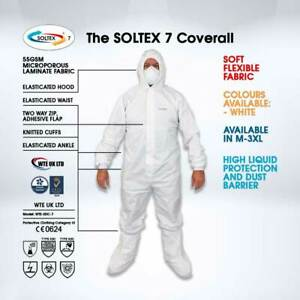 Soltex 7 Coverall - 1 Pcs        MEDIUM , LARGE , X-LARGE