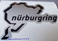 STICKER CIRCUIT MOTO NURBURGRING CASQUE POLY CARENAGE