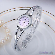 New Womens Fashion Bracelet Wrist Watches Luxury Rhinestone Quartz Analog Watch