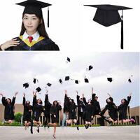 Graduation Cap and Gown 2019 Tassel Bachelor or High School Black Matte Unisex.