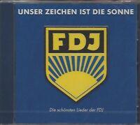 UNSER ZEICHEN IST DIE SONNE - DIE SCHÖNSTEN LIEDER DER FDJ * NEW CD 1999 * NEU *