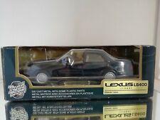 ROAD TOUGH LEXUS LS400 (1988)IN BLACK 1:24 CONDITION EXCELLENT BOXED NO 93039
