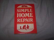 Home Library Simple Home Repair ©1986 Home Improvement DIY Paperback