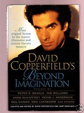BEYOND IMAGINATION - DAVID COPPERFIELD SIGNED 1ST -VERY GOOD CONDITION