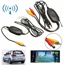 2.4Ghz Wireless RCA Video Transmitter Receiver for Car Reversing Camera Monitor