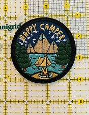 Wanderlust Embroidered Iron On Patch Outdoors Camping Hiking Nature