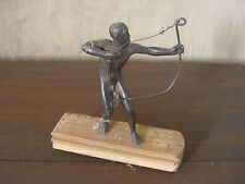 Archery Bronze° Anf. 20 Prob Cup? Height 14 CM Unsigned Art Deco