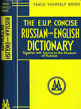The E. U. P. Concise Russian and English Dictionary