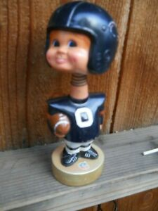 """VINTAGE 1975 """" CHICAGO BEARS"""" PLASTIC 7.5 """" TALL BOBBLE HEAD BY SPORTS SPECIAL"""