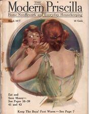 1918 Modern Priscilla March - Armenian girls in America; Cream of Wheat; Easter