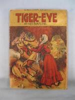 Tiger Eye Antique Paperback Book 1909 Ned Buntline Beadles Frontier Series (O)