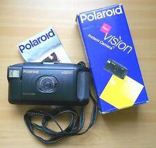 Polaroid VISION AUTO FOCUS SLR immediatamente immagine fotocamera Instant Camera f12/107mm IN SCATOLA ORIGINALE