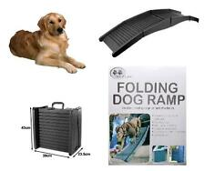 FOLDING DOG PET RAMP PORTABLE DOGGIE CARRY FOLDING STEPS - WEIGHT UP TO 50KG NEW