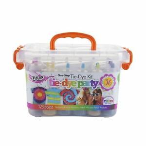 Pool Party Tie Dye Kit Big Party Box Tulip craft activity tye die kid family