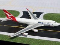 "EXTREMELY RARE Gemini Jets 1:400 Qantas 747-400 ""OneWorld"" VH-OEB"