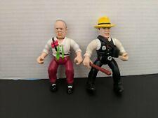 "Dick Tracy & Pruneface 5"" Figure lot of (02) pcs Disney Vintage lot"