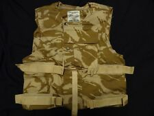 British Army Body Armour IS COVER / Vest - 190/108 DESERT DPM Unissued NO ARMOUR