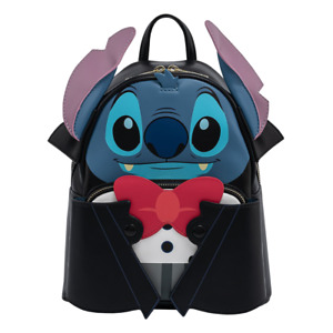 Disney Lilo & Stitch Vampire Stitch Mini Backpack by Loungefly - New, With Tags