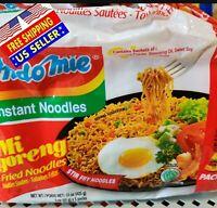 ORIGINAL - Indomie Instant Noodle 100%HALAL Mi Goreng FRIED NOODLES 5 packs 425g