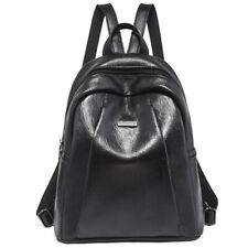 Women Leather Travel Backpack Handbag Shoulder School Loose Bag Rucksack Satchel