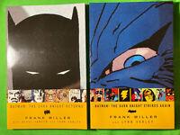 DC Batman The Dark Knight Returns and The Dark Knight Strikes Again TPB
