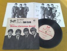 "Superbe Gb 4989cm The Beatles' Christmas Record "" Ventilateur Club Flexible"
