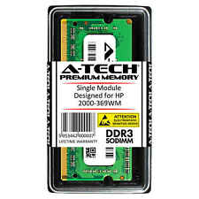 A-Tech 2GB DDR3 1600 MHz PC3-12800 1.35V 1Rx8 Memory RAM for HP 2000-369WM