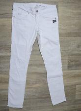 G-Star Jeans 'FENDER SKINNY WMN' White W28 L30 AU10 US6 EUC RRP $289 Women Girls