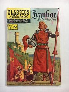 Classics Illus. #2 HRN136 good Ivanhoe