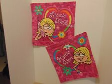 SET OF 2 LIZZY MCGUIRE THROW  PILLOWS