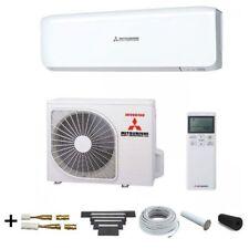 "Klimaanlage Mitsubishi SRK 35 ZS-W Set, 3,5 kW + ""ready to install"" Set 5m Boden"