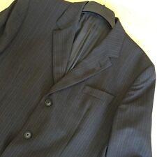 9e1cde9e Kenzo Homme Men's Brown Striped Suit Blazer Jacket 100% Wool Size 52