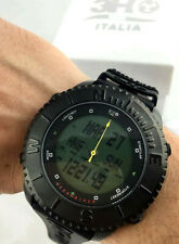 Watch 3H Ocean Diver Qibla Watch Compass Chrono Digi Zone Time Timer Lamp Light