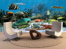 Extra Large Wall Paintings Coral Reef Starfish 3D Wall Decor Mural Print Poster